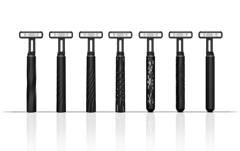 超便携!3D 打印差旅手动剃须刀,喜获中国台湾金点设计奖