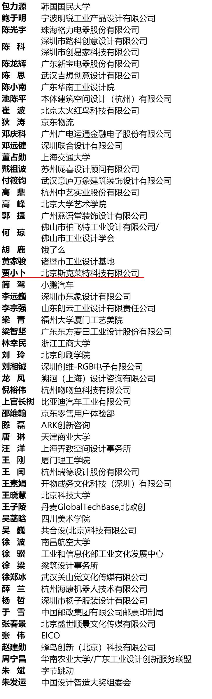 SCRAT3D 贾小卜榜上有名,第十六届(2020)光华龙腾奖•中国设计业青年百人榜揭晓