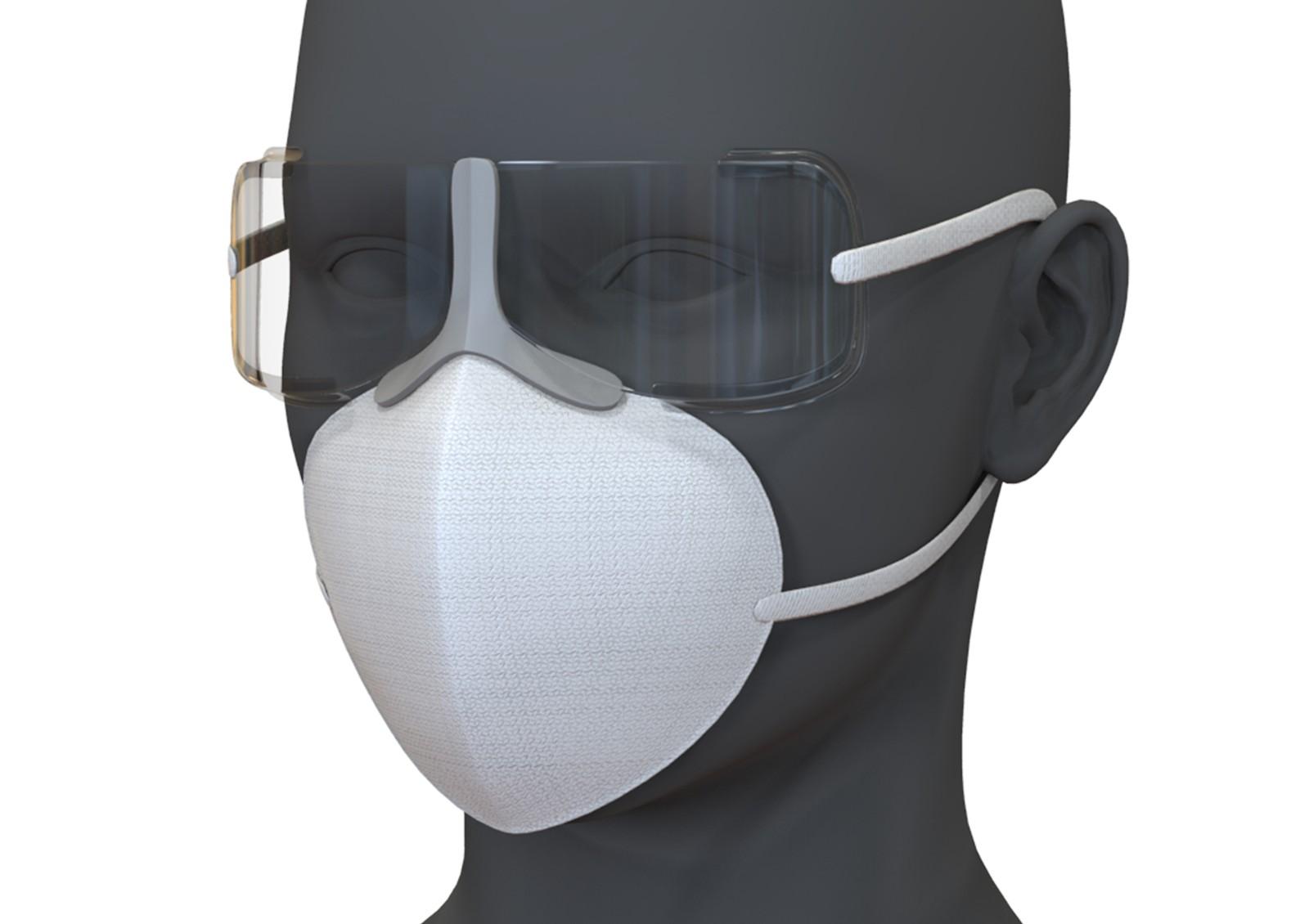 高效防尘口眼一体罩